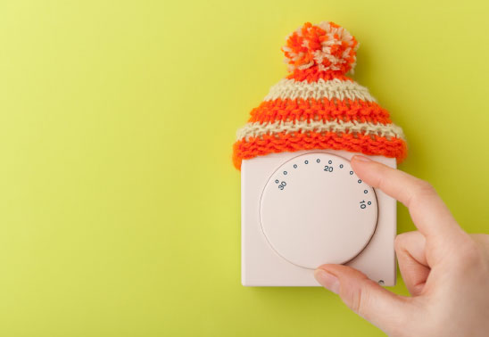 reduced heating bills