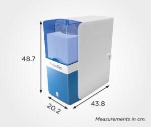 TwinTec Cobalt Water Softener Measurements